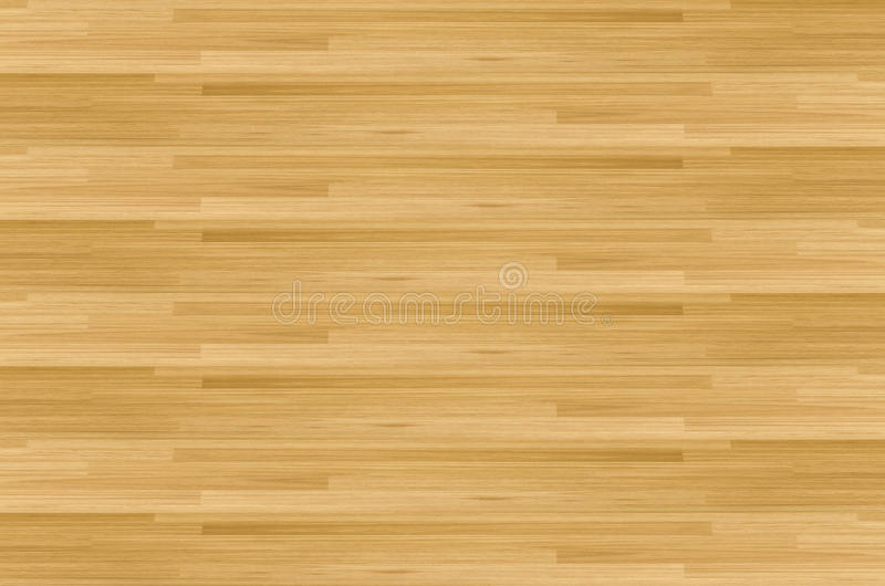 Pavimento del campo da pallacanestro dell'acero del legno duro osservato da sopra fotografia stock