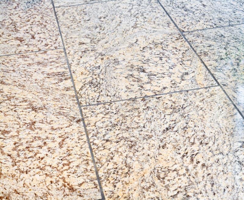 Pavimento del granito fotografia stock