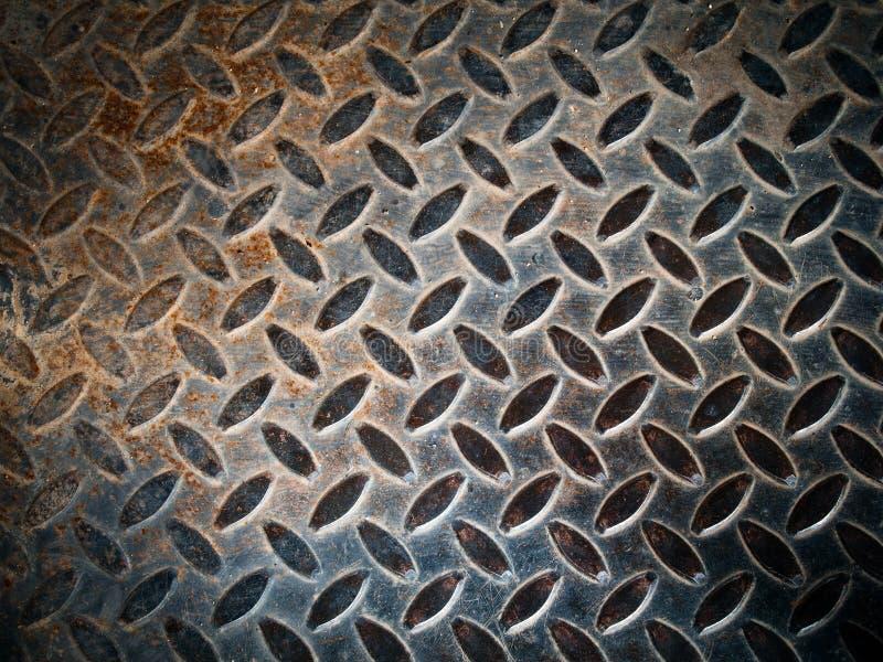 Pavimento del metallo di Grunge fotografia stock