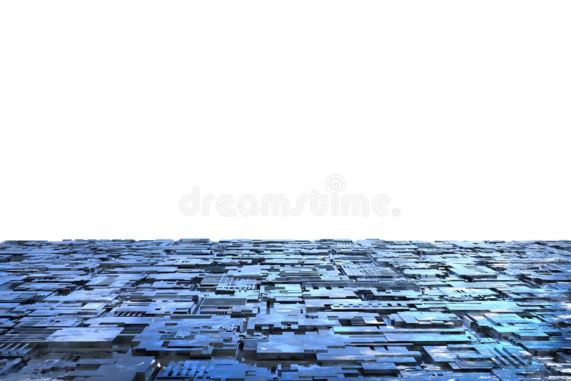 Pavimento del metallo di lerciume fotografie stock