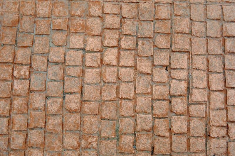 Pavimento di calcestruzzo stampato fotografia stock libera da diritti