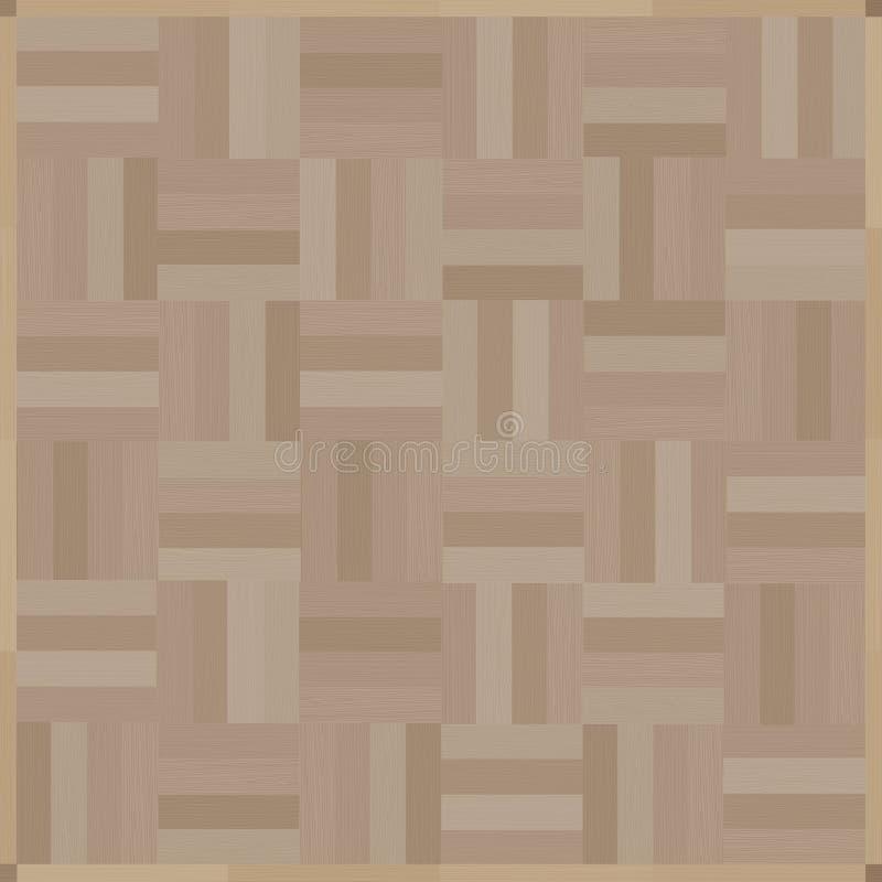 Pavimento di legno illustrazione di stock