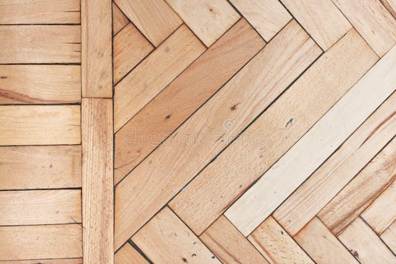 Pavimento di legno afflitto rustico immagini stock libere da diritti