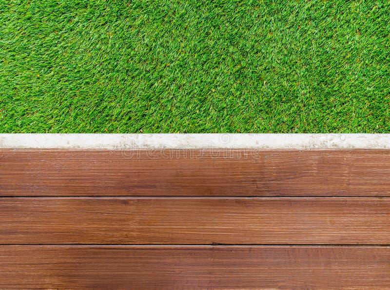 Pavimento di legno artificiale fotografia stock