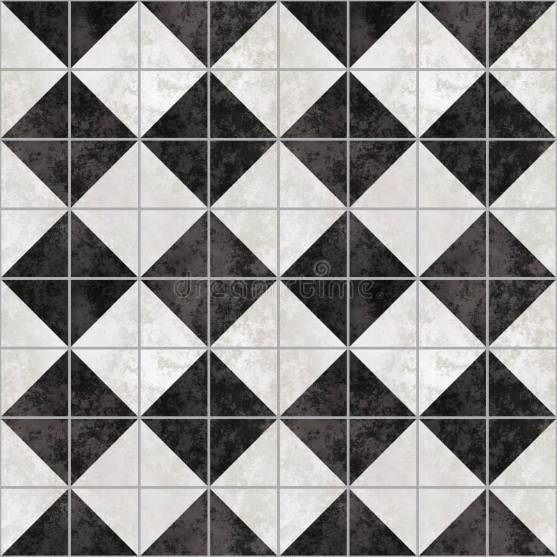 Pavimento di marmo illustrazione vettoriale