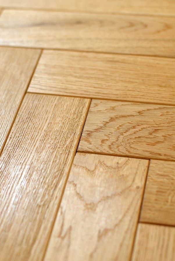 Pavimento di parchè di legno immagini stock