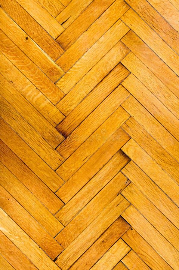 Pavimento di parchè di legno immagine stock