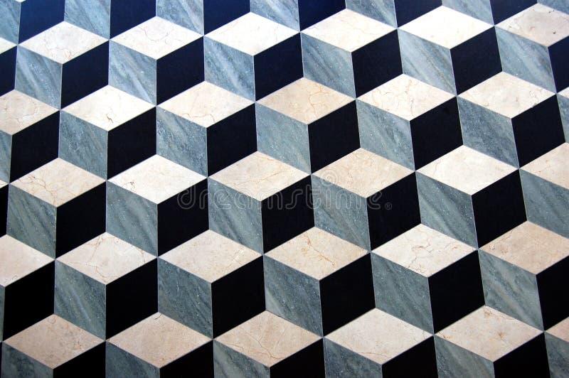 Pavimento di parchè di marmo immagini stock libere da diritti
