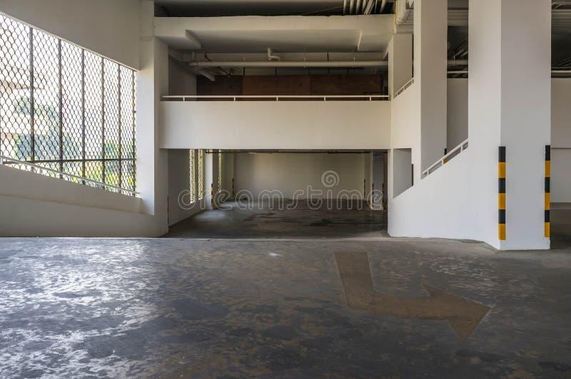 Pavimento di parcheggio fotografia stock