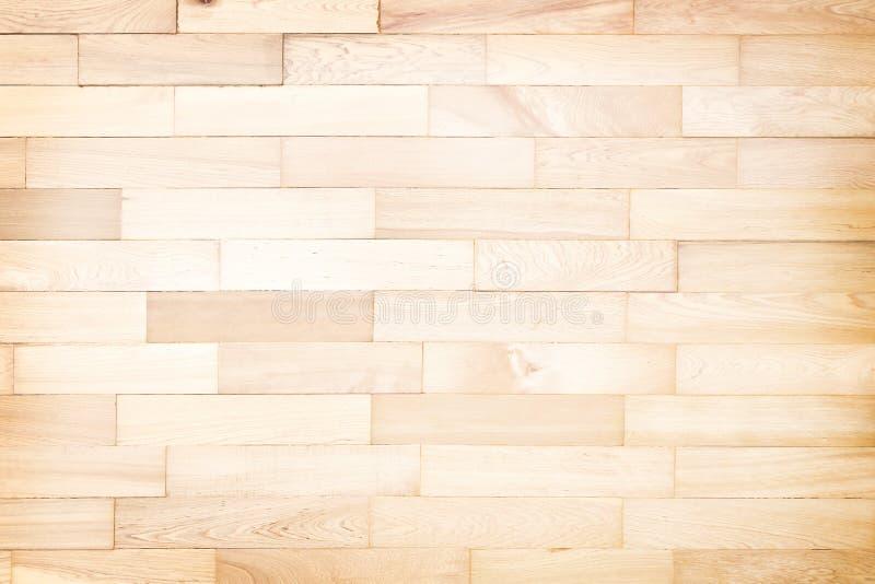 Pavimento di parquet laminato per fondo, struttura di legno senza cuciture fotografia stock