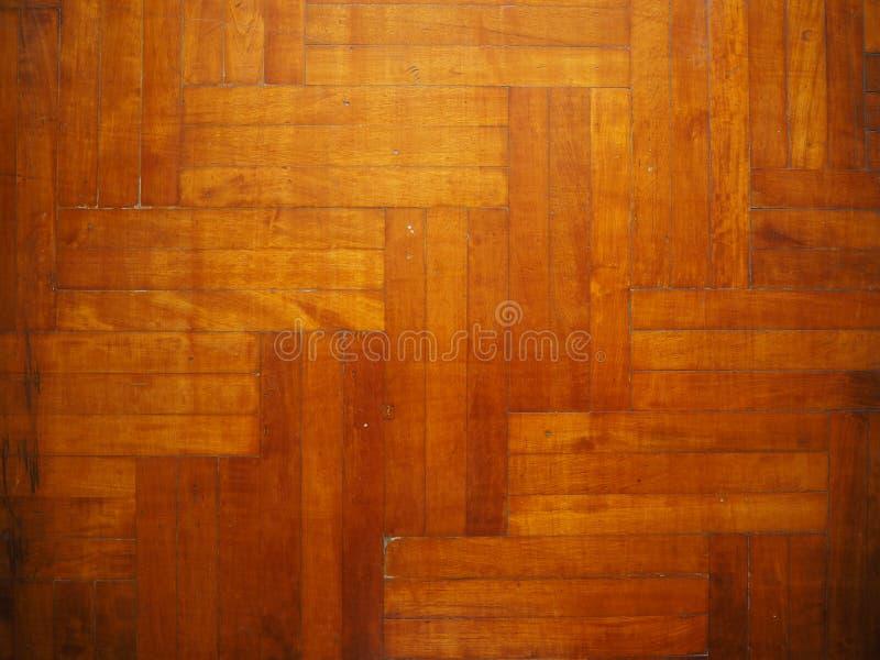 Pavimento di parquet di legno, pavimento di Pake fotografia stock