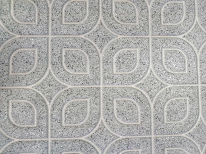 Pavimento non tappezzato di bella struttura astratta e fondo e carta da parati in bianco e nero del modello di colore del piatto  immagine stock libera da diritti