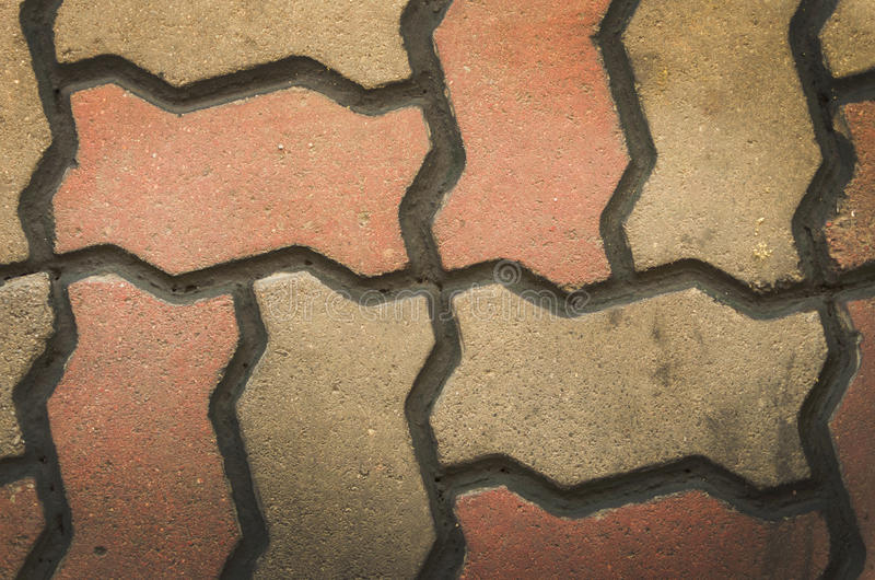 Paving blocks.