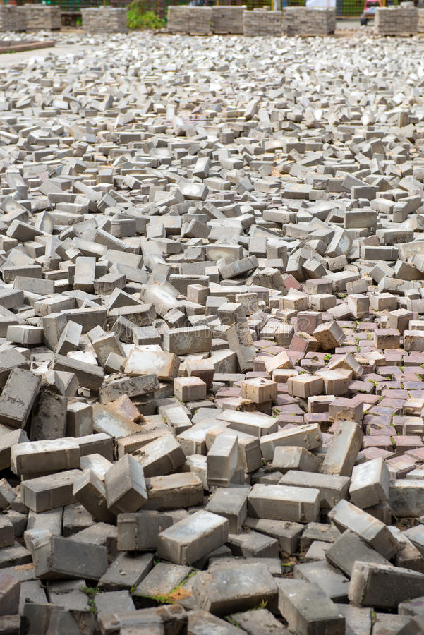 Download Paving slabs stock image. Image of construction, perspective - 42074499