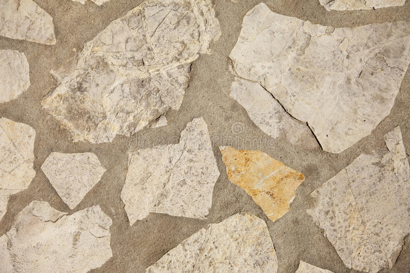 Paving Stone. And concrete background stock photography