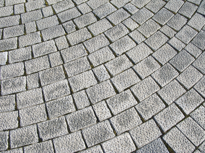 Paving stone. Floor of granite paving stone royalty free stock photo