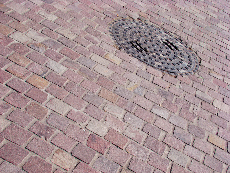Paving Stone. Texture - urban scene royalty free stock photos