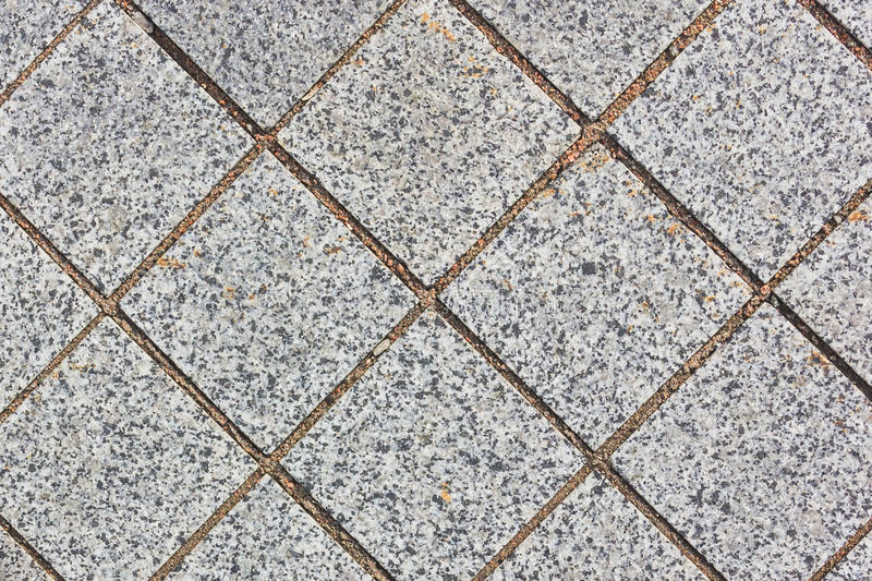 Paving stone path. Outdoors closeup royalty free stock photography