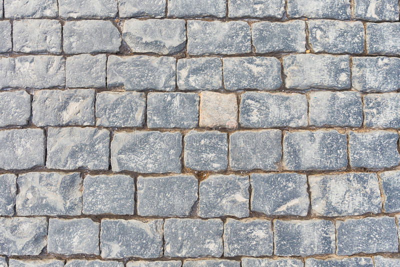 Paving stone. On Red square, Moscow, Russia royalty free stock photo