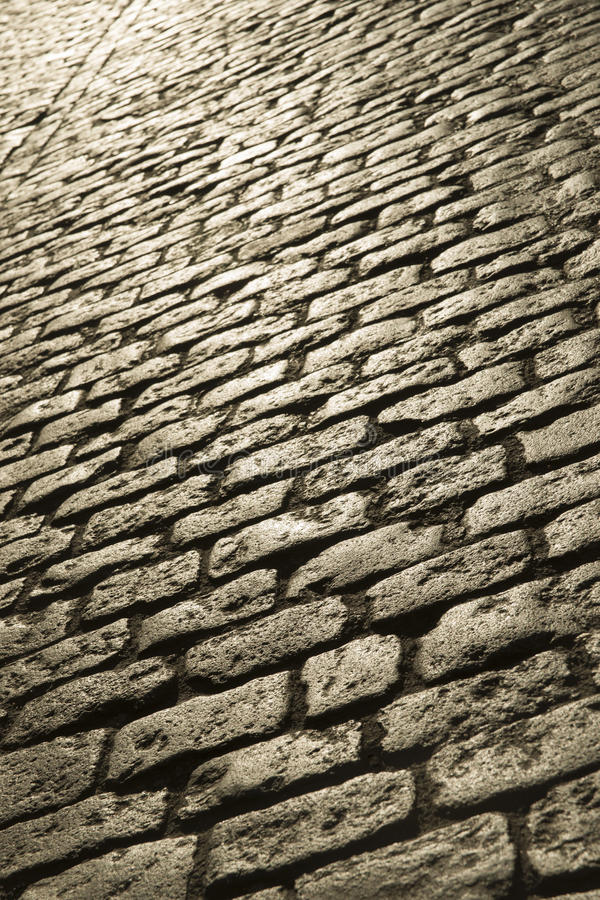 Download Paving Stone At Sunset Light Stock Image - Image of pavement, cobble: 40379479