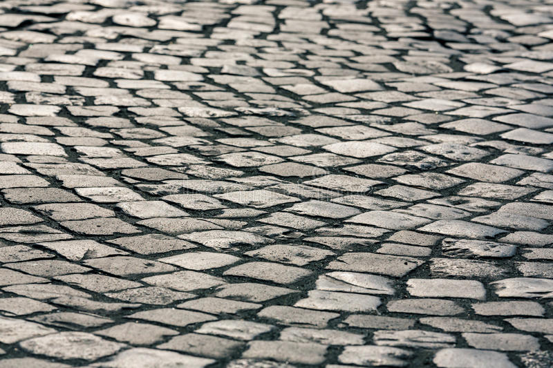 Paving Stone surface. In retro style stock photography