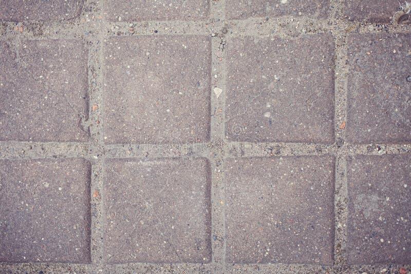 Paving stone texture. Flat stone or brick used royalty free stock image