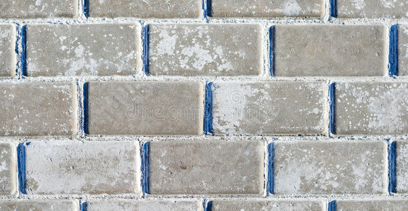 Paving stone Texture. Paving stone from small concrete Blocks. Paving stone Texture stock photography