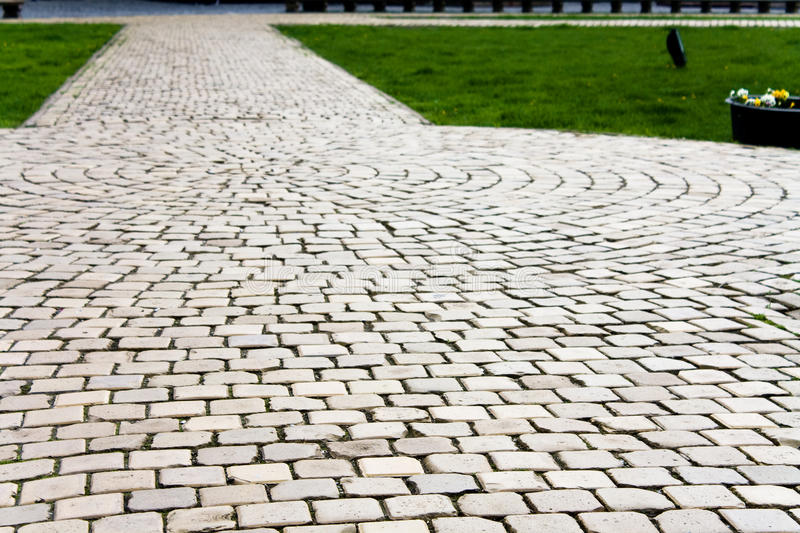 Download Paving stones stock photo. Image of footpath, stones - 13813172