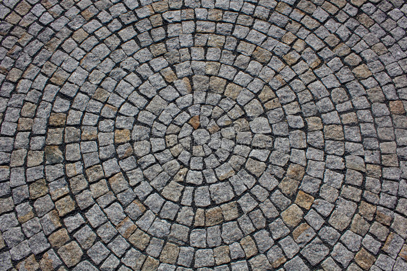 Paving stones texture stock photography