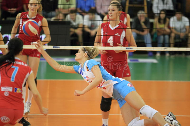 Download Pavla Vincourova - Czech Volleyball Editorial Stock Photo - Image of olymp, final: 30643083
