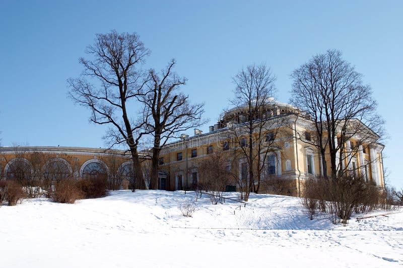 Pavlovsk pałacu. obraz royalty free