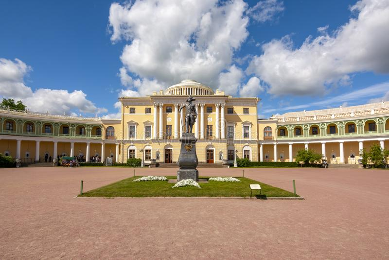 Pavlovsk-Palast, St Petersburg, Russland lizenzfreies stockfoto