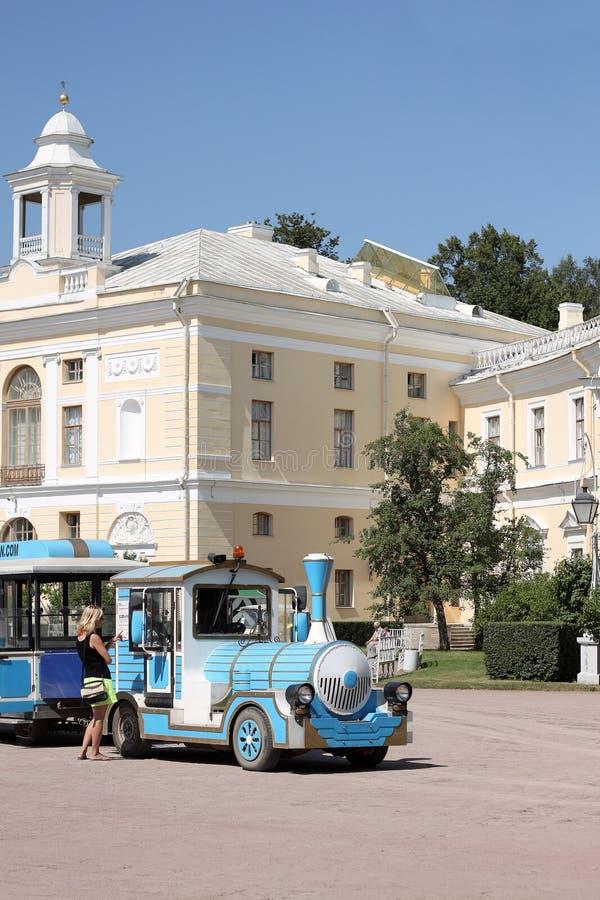 Pavlovsk Paleis in Rusland stock foto's