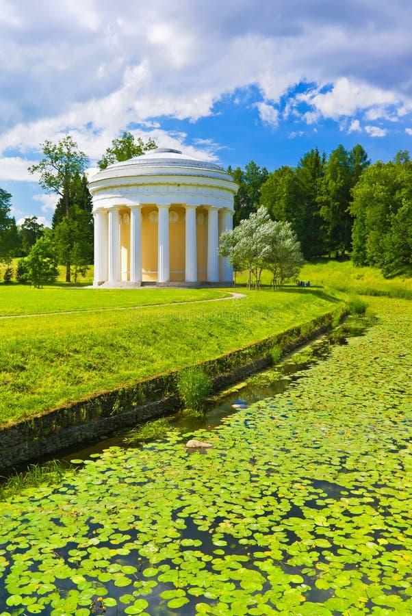 Pavlovsk park. Rosja obraz stock