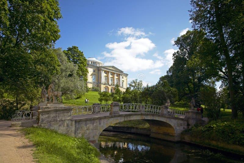 Pavlovsk St Petersburg, Ryssland royaltyfria bilder