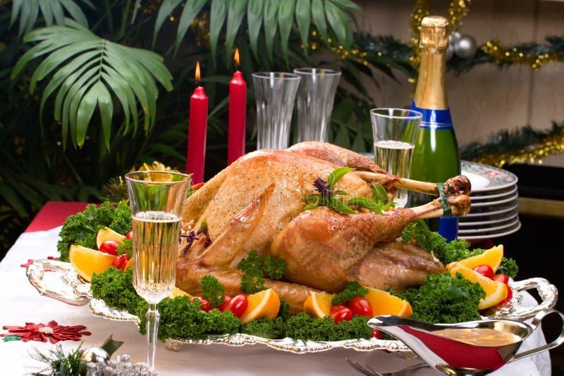 Download Pavo De La Navidad En El Vector Del Día De Fiesta Foto de archivo - Imagen de cena, navidad: 7286616