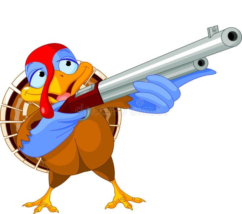 Pavo del Shooting stock de ilustración