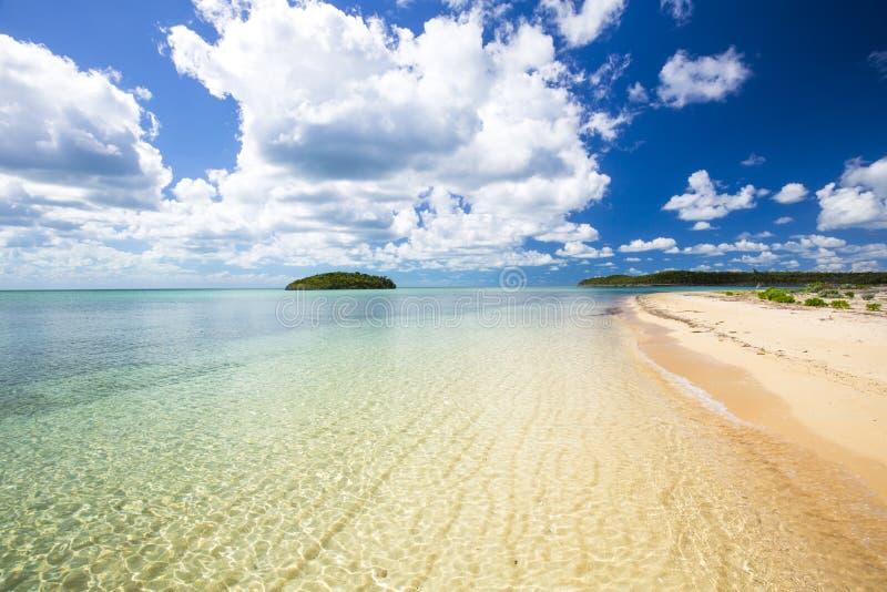 Paw Paw Bay-strand royalty-vrije stock foto's