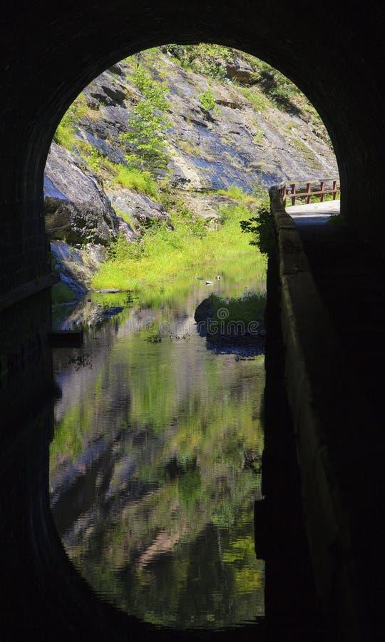 Paw Paw Tunnel Imágenes de archivo libres de regalías