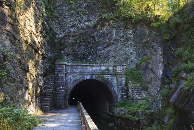 Paw Paw Tunnel lizenzfreies stockfoto