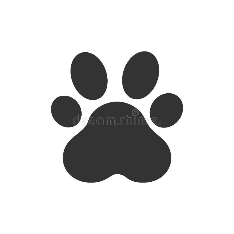 Paw Print Illustration de vecteur, animal de Paw Print illustration de vecteur
