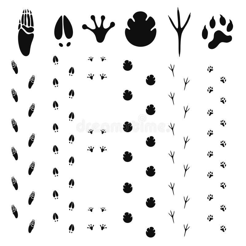 Paw Print. Vector illustration (EPS 10 vector illustration