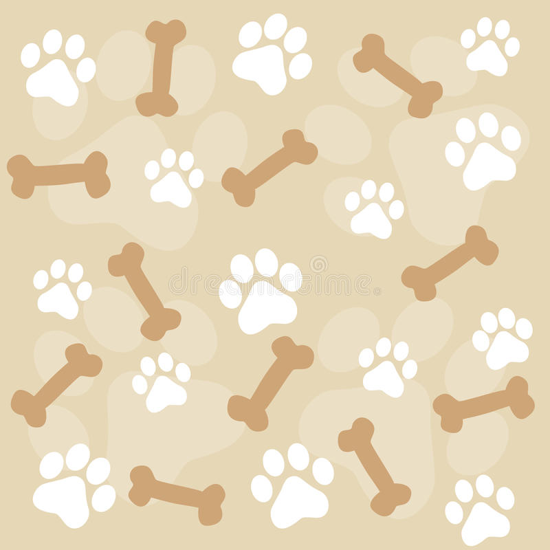 Download Paw prints stock vector. Illustration of hound, graphic - 17179448