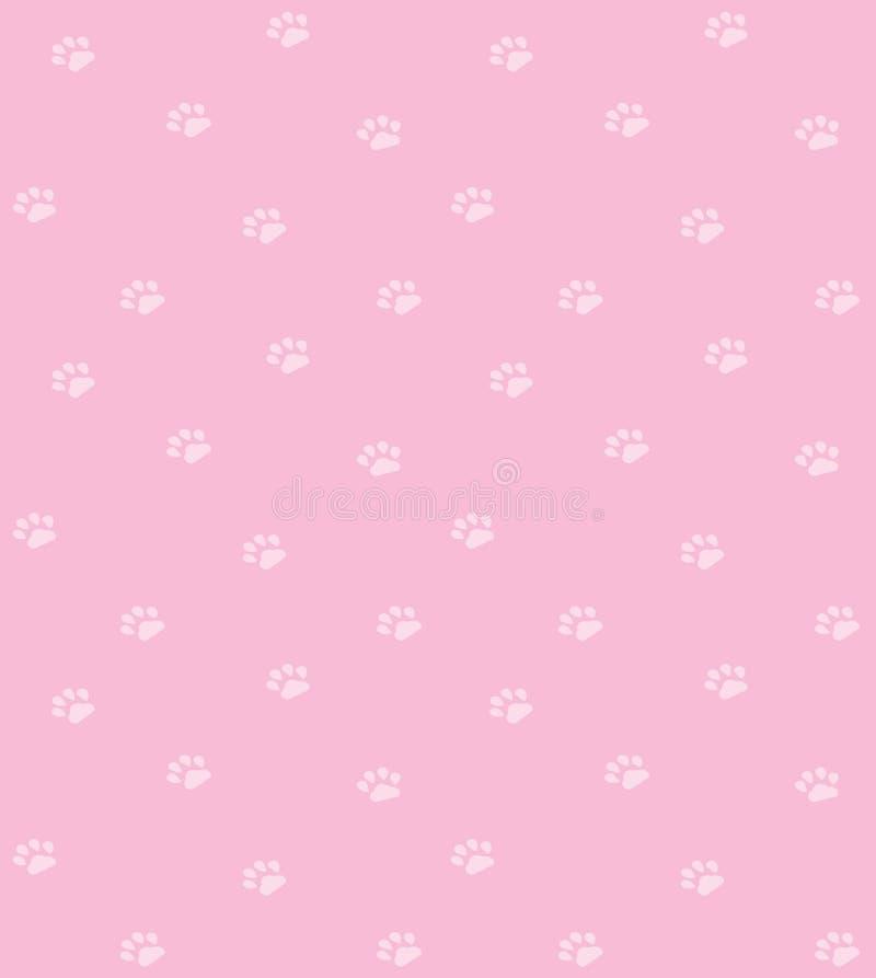 Download Paw prints background stock illustration. Illustration of foot - 10269296