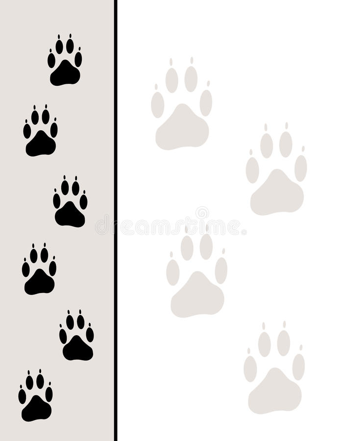 Download Paw Tracks Background Royalty Free Stock Photography - Image: 11602127