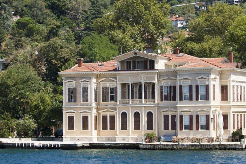 Pawilon w bosphorus, Istanbul, indyk fotografia royalty free