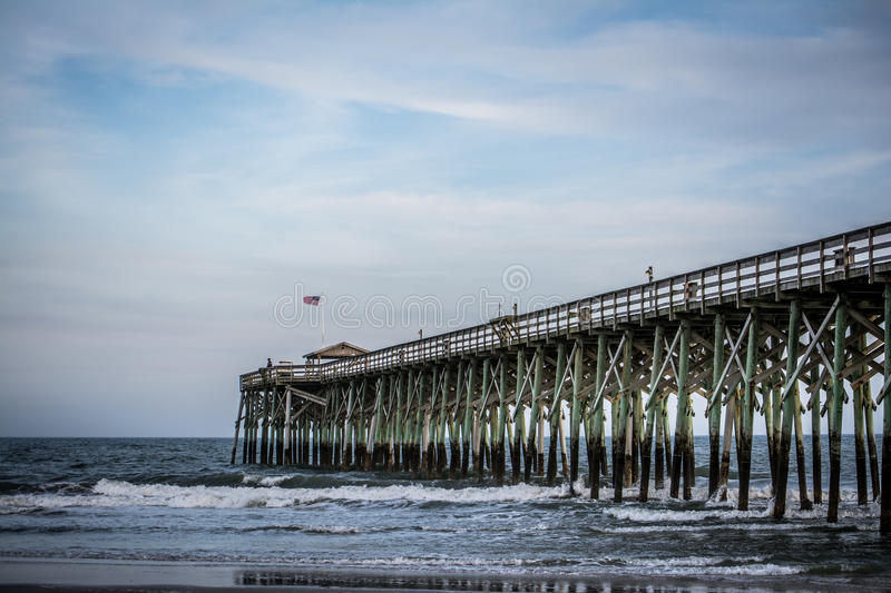 Pawleys Island Pier stock images