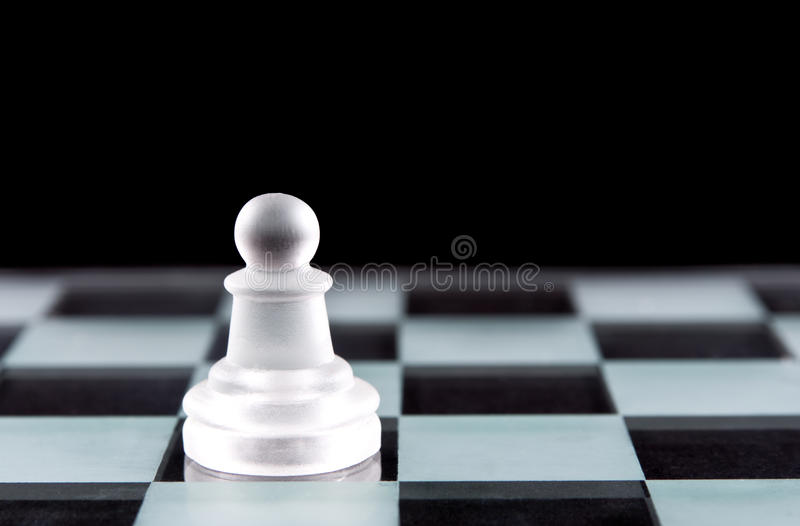 Download Pawn chess piece stock photo. Image of transparent, board - 29233670