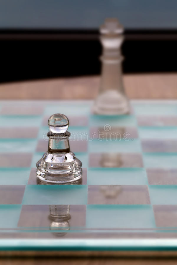 Pawn King Chess Pieces - Business Concept - small