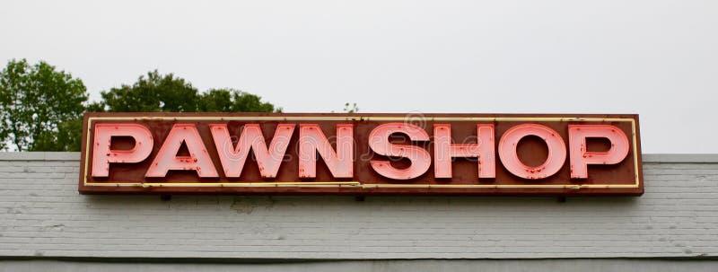 Pawn shoppar fotografering för bildbyråer